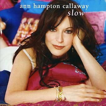 Ann Hampton Callaway - Slow [CD] USA import