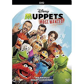 Muppets: Most Wanted [DVD] USA import