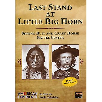 Last Stand ved Little Big Horn [DVD] USA import