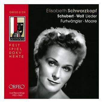 Schubert/Wolf - Schubert, Wolf: Lieder [CD] USA import