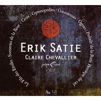 E. Satie - Erik Satie: Le Fils Des Etoiles; Sonneries De La Rose + Croix; Gymnop Dies [CD] USA importerer