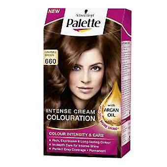 Schwarzkopf Palette Intensive Cream Colour 660 Caramel Brown