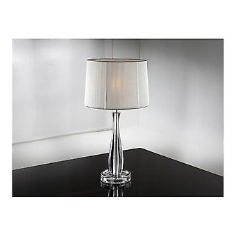 Schuller Lin Clear Table Lamp W/Shade
