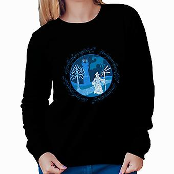 Lord Of The Rings Gandalf A Wise Man's Journey Women's Sweatshirt