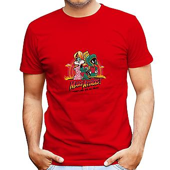 Looney Tunes Mars angreb mænd T-Shirt