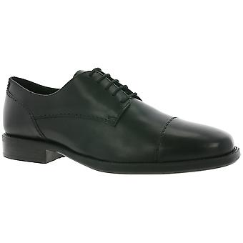 GEOX Respira U Federico A shoes real leather lace-ups black
