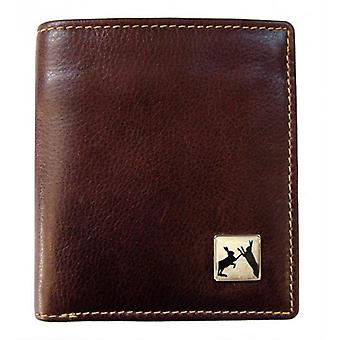 Tyler and Tyler Leather Sparring Hares Jeans Wallet - Brown