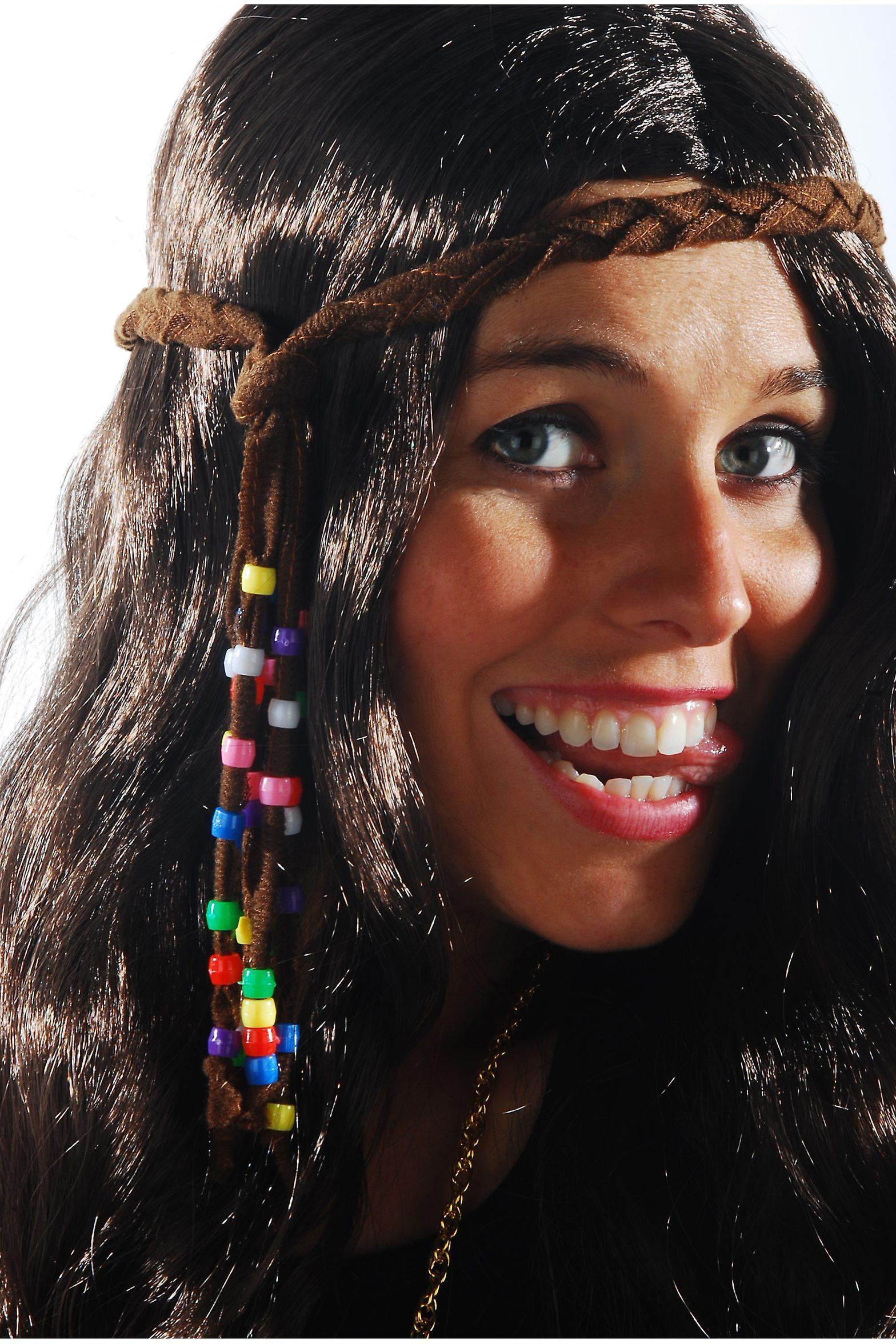 Haar Accessoires Hippie Haar Band mit Perlen