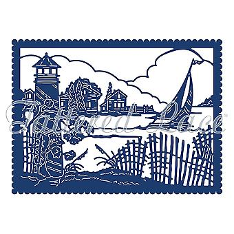 Tattered Lace Nautical Tapestry Die