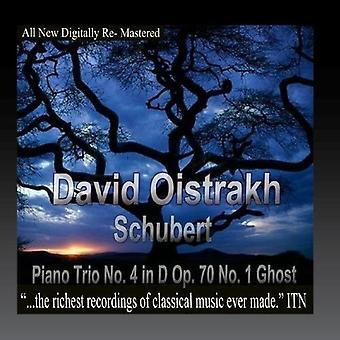 Oistrakh, David / Knushevitsky, Sviatoslav / Oborin - Schubert Piano Trio No. 4 in D Op. 70 No. 1 Ghost [CD] USA import