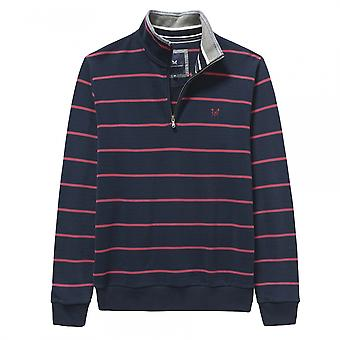 Crew Clothing Crew Clothing Classic Half Zip Mens Sweater (AW17)