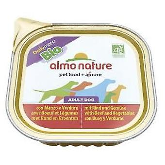 Almo nature Daily Menu Bio Beef & Vegetable (Dogs , Dog Food , Wet Food)