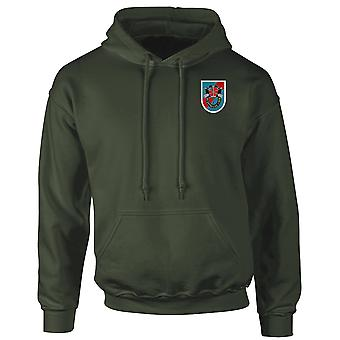 20. Special Forces Group Green Beret Stickerei Logo - Hoodie