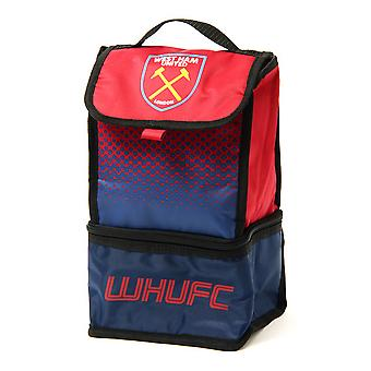 West Ham FC Official Fade Insulated Football Crest Lunch Bag