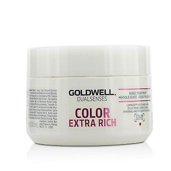 Goldwell Dual Sinne Farbe Extra Rich 60sec Behandlung (Leuchtkraft für widerspenstiges Haar) - 200ml/6,7 oz