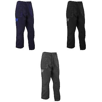 Portwest Mens Texo Contrast Workwear Trousers
