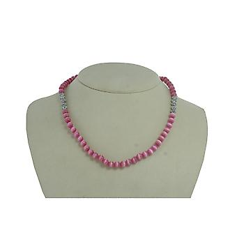 EDC by esprit ladies chain stainless steel pink EENL10234A420