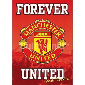 Manchester United Forever Poster Poster Print