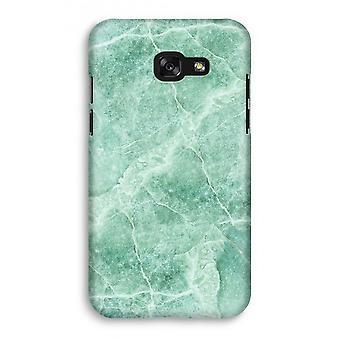 Samsung Galaxy A3 (2017) Full Print Case - Green marble