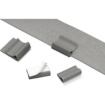 Cable mount for ribbon cable Grey Panduit