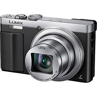 Digital camera Panasonic DMC-TZ71EG-S 12.1 MPix Optical zoom: 30 x Silver Casing (Body), Battery Wi-Fi