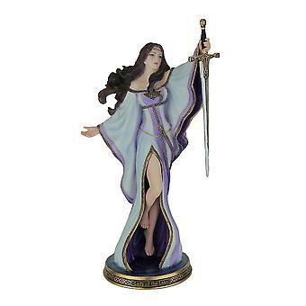 جيمس رايمان سيدة البحيرة تمثال أسطورة آرثر