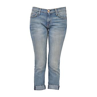 Current Elliott women's 15570001 blue cotton of jeans