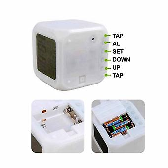 LED Colour Changing Digital Alarm Clock