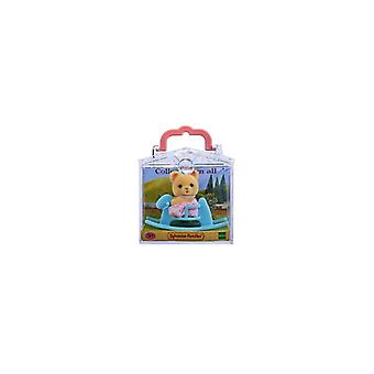 SF Baby Carry Case -Bear on Rocking Horse-