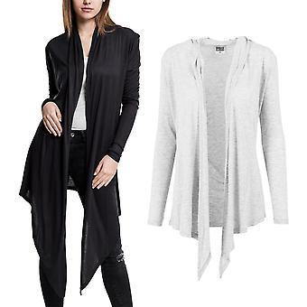 Urban klassikere damer - tyktflytende lang jakke