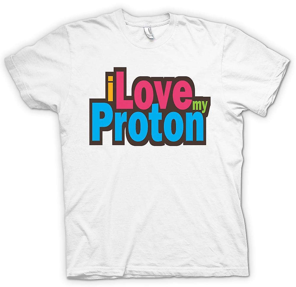 Womens T-shirt - I Love My Proton - Car Enthusiast