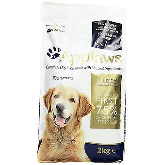 Applaws naturlige komplet tørfoder til hunde mad Adult kylling lys, 2kg