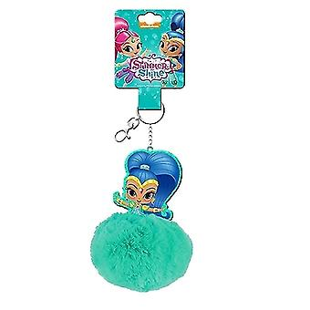 Shimmer and Shine keychain