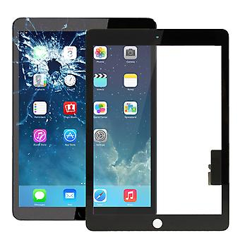 Touch screen glas skærm kompatibel for nye Apple iPad 9,7 2017 digitizer sort