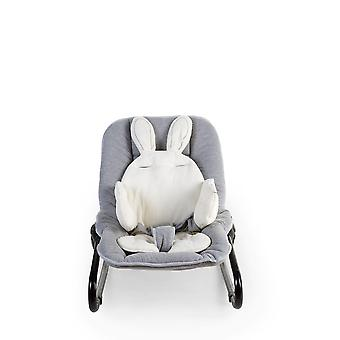 Accueil enfant-lapin universelle Baby Table siège coussin Jersey blanc