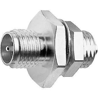 Coax adapter SMA reverse polarity socket - UMTC socket Telegärtner J01155R0061 1 pc(s)