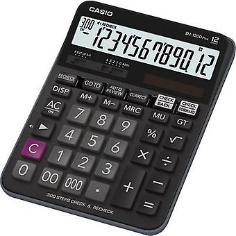 Calucalor Casio DJ-120DPLUS Black Display (digits): 12