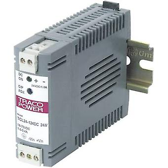 TracoPower TCL 024-105DC Rail mounted PSU (DIN) 5 Vdc 5 A 24 W 1 x