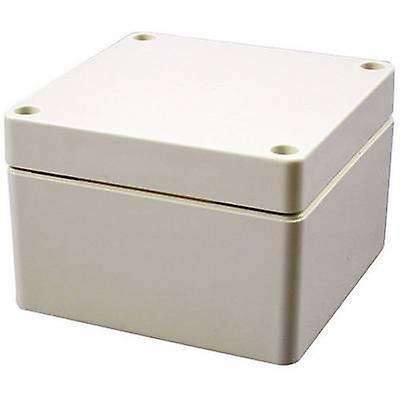 Hammond Electronics 1554SGY boîtier universel 160 x 160 x 90 acrylonitrile butadiène styrène gris-blanc (RAL 7035) 1 pièce (s)