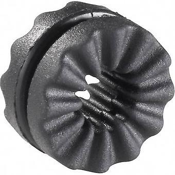 Richco VG-2 anti-vibrasjoner munnstykke svart (Ø x H) 14.4 x 8.2 mm