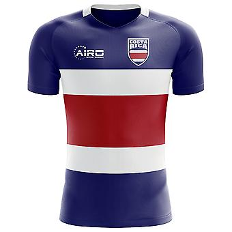 2018-2019 Costa Rica Flag Concept Football Shirt (Kids)