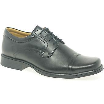Clarks heise Cap Mens formell lisse opp sko