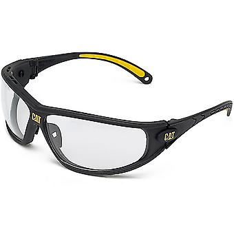 Caterpillar bulldozer Mens ropa protectora gafas de seguridad blanco