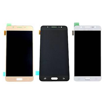 Roba certificata® Samsung Galaxy J5 2016 Display (LCD + Touch Screen + parti) AAA + qualità - nero / bianco / oro