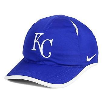 Канзас-Сити Роялс MLB Nike Featherlight Aerobill регулируемые шляпа