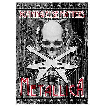 Metallica Nothing Else Matters - The Graphic Novel by Jim McCarthy - B