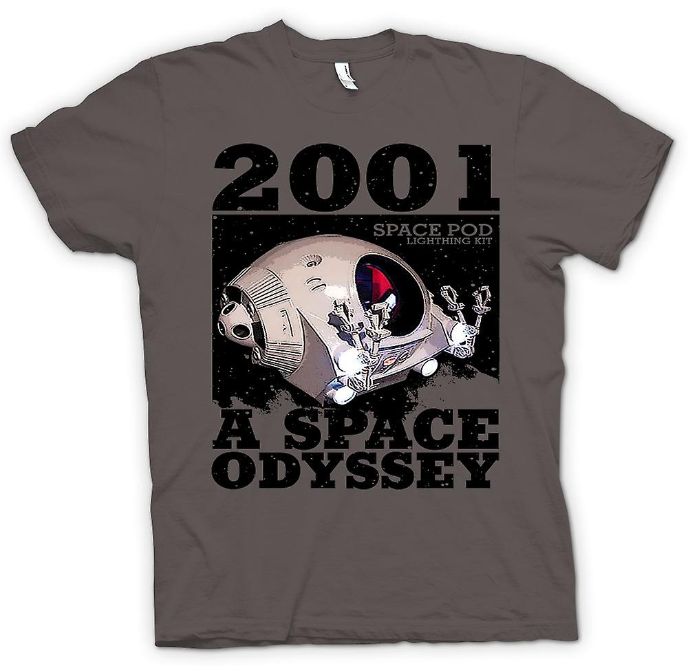 Womens T-shirt - 2001 Space Odyssey - utrymme Pod