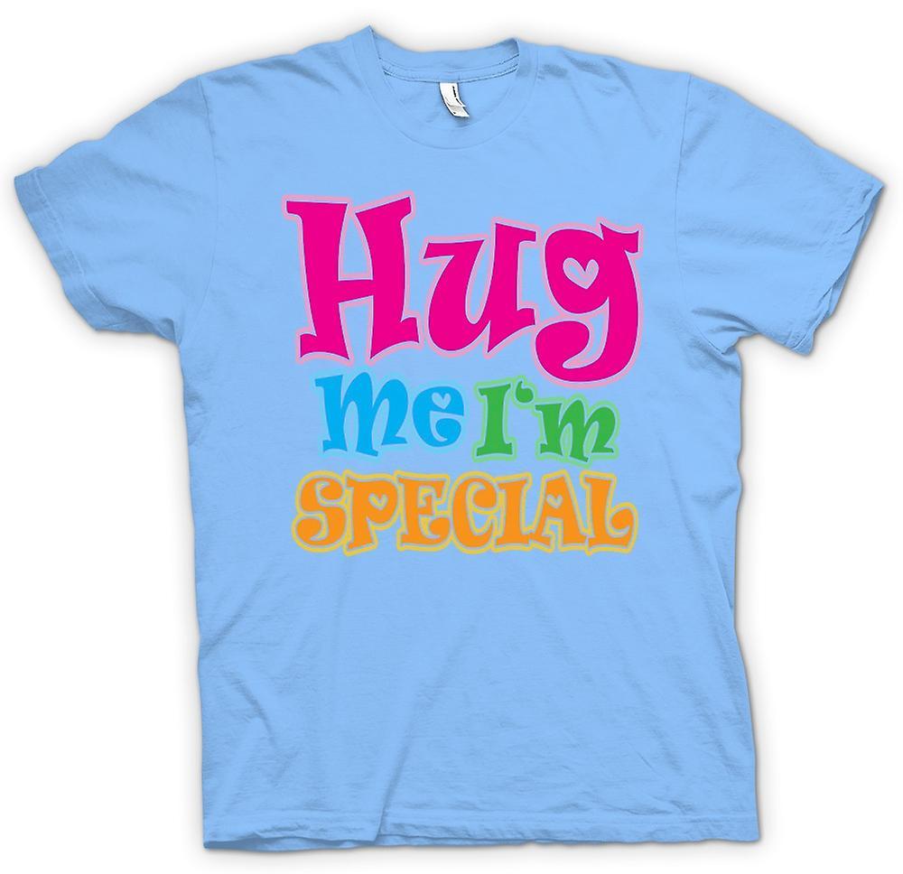 Mens t-shirt - Hug Me Io sono speciale - divertente