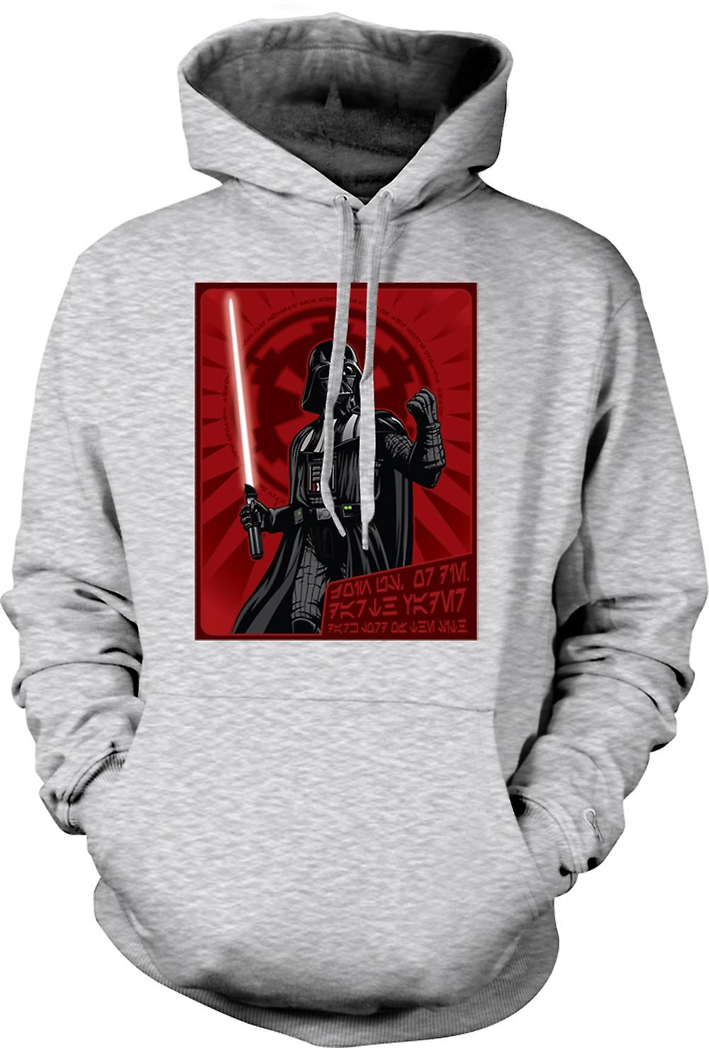 Mens Hoodie - Darth Vader - Star Wars - Japanese