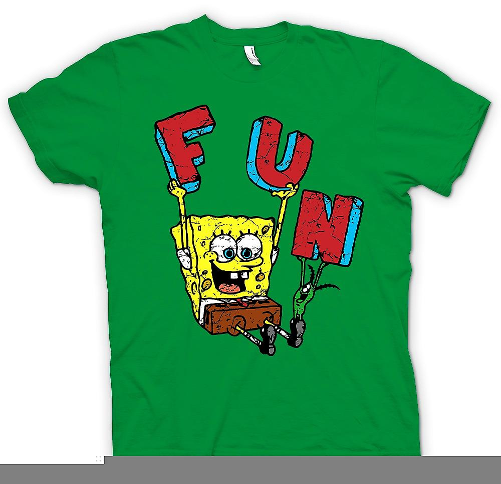 Mens t-shirt - Sponge Bob - divertimento